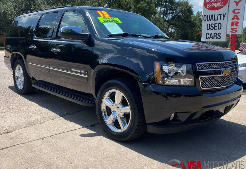 2013 Chevrolet Suburban for sale at VSA MotorCars in Cypress TX