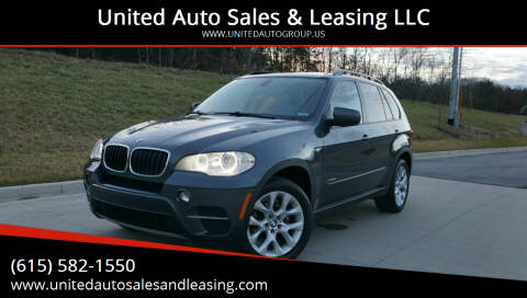 2013 BMW X5 for sale at United Auto Sales & Leasing LLC in La Vergne TN