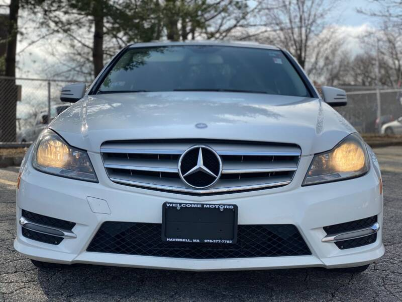 2013 Mercedes-Benz C-Class for sale at Welcome Motors LLC in Haverhill MA