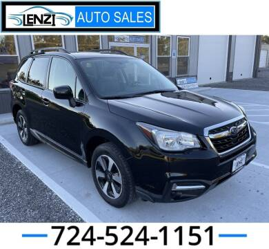 2018 Subaru Forester for sale at LENZI AUTO SALES in Sarver PA