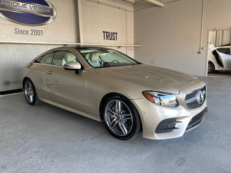 2018 Mercedes-Benz E-Class for sale at TANQUE VERDE MOTORS in Tucson AZ