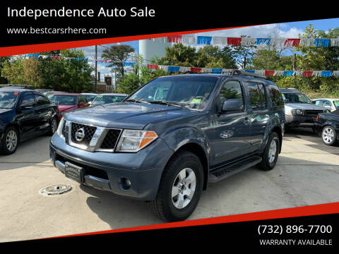 2005 Nissan Pathfinder for sale at Independence Auto Sale in Bordentown NJ