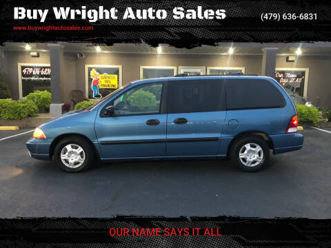 2002 Ford Windstar for sale at Buy Wright Auto Sales in Rogers AR