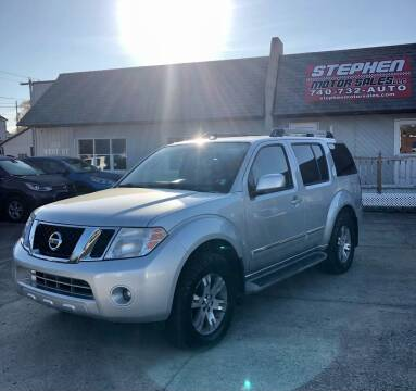 2011 Nissan Pathfinder for sale at Stephen Motor Sales LLC in Caldwell OH