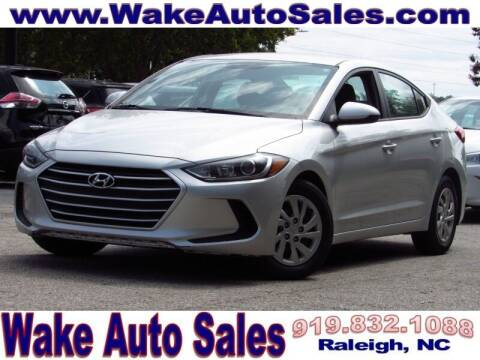 2018 Hyundai Elantra for sale at Wake Auto Sales Inc in Raleigh NC