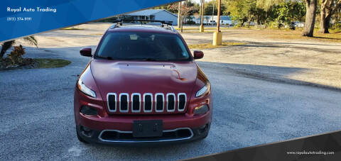 2014 Jeep Cherokee for sale at Royal Auto Mart in Tampa FL