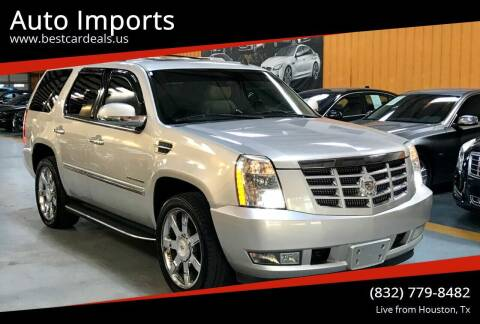 2010 Cadillac Escalade for sale at Auto Imports in Houston TX
