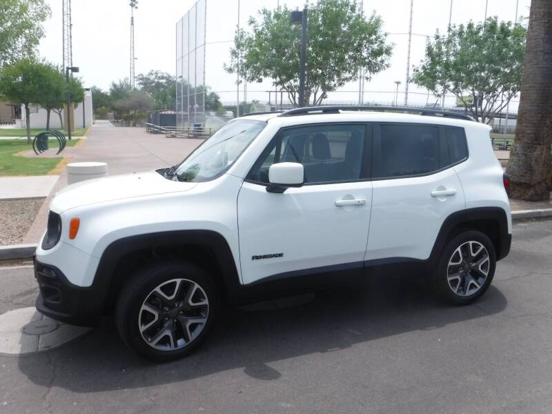 2017 Jeep Renegade for sale at J & E Auto Sales in Phoenix AZ