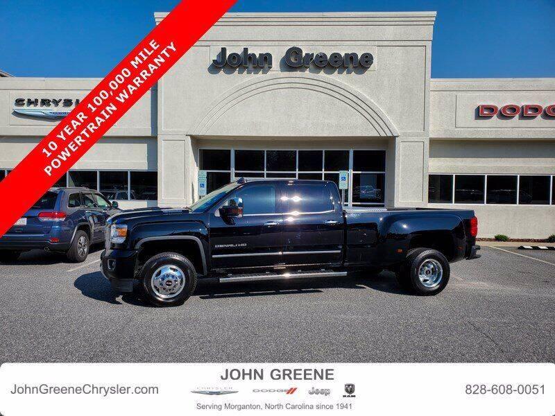 2019 GMC Sierra 3500HD for sale at John Greene Chrysler Dodge Jeep Ram in Morganton NC