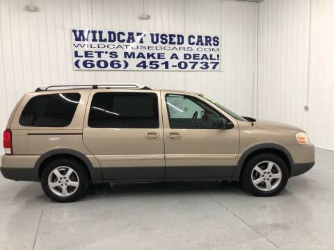 2006 Pontiac Montana SV6 for sale at Wildcat Used Cars in Somerset KY