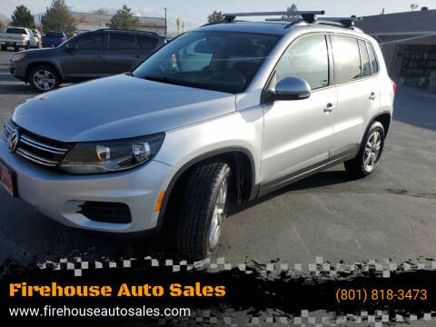 2015 Volkswagen Tiguan for sale at Firehouse Auto Sales in Springville UT