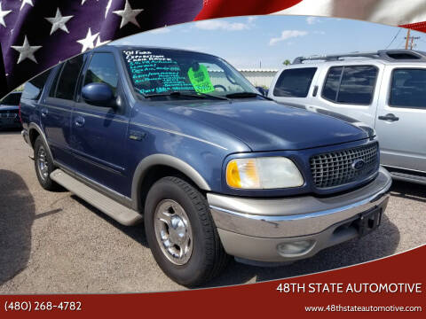 2001 Ford Expedition for sale at 48TH STATE AUTOMOTIVE in Mesa AZ