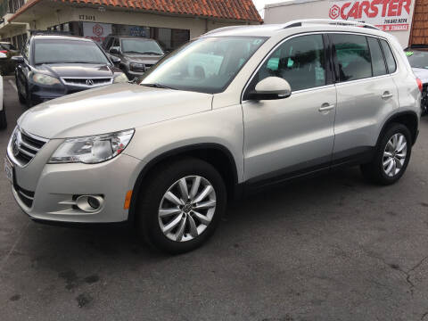 2011 Volkswagen Tiguan for sale at CARSTER in Huntington Beach CA