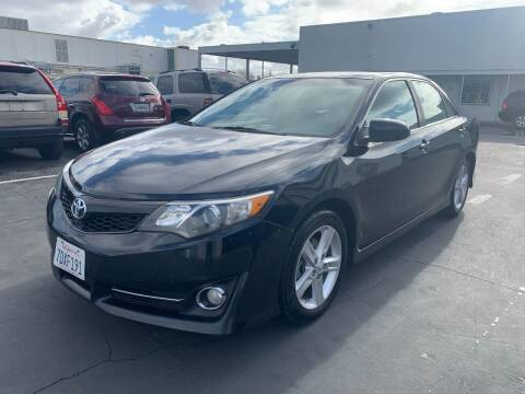 2012 Toyota Camry for sale at PRICE TIME AUTO SALES in Sacramento CA