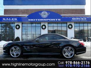 2013 Mercedes-Benz SL-Class for sale at Highline Group Motorsports in Lowell MA