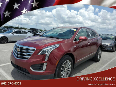 2017 Cadillac XT5 for sale at Driving Xcellence in Jeffersonville IN