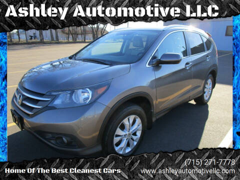 2013 Honda CR-V for sale at Ashley Automotive LLC in Altoona WI