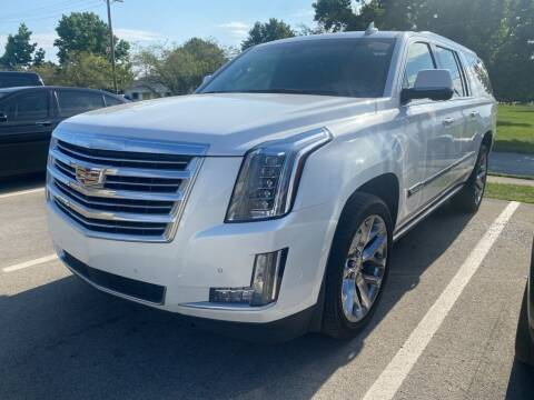 2017 Cadillac Escalade ESV for sale at Coast to Coast Imports in Fishers IN