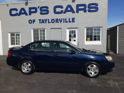 2004 Chevrolet Malibu for sale at Caps Cars Of Taylorville in Taylorville IL