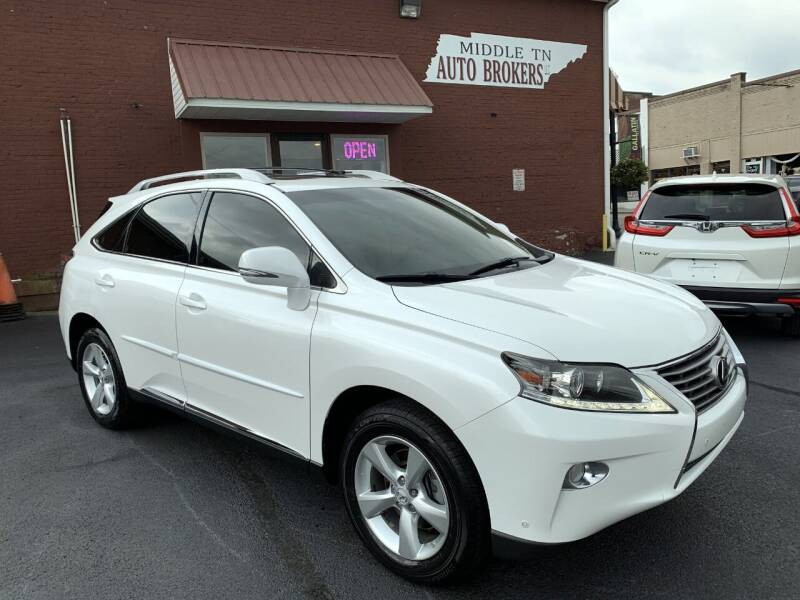 2015 Lexus RX 350 for sale at Middle Tennessee Auto Brokers LLC in Gallatin TN