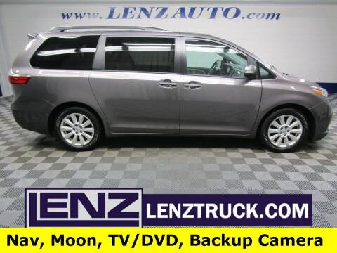 2017 Toyota Sienna for sale at LENZ TRUCK CENTER in Fond Du Lac WI