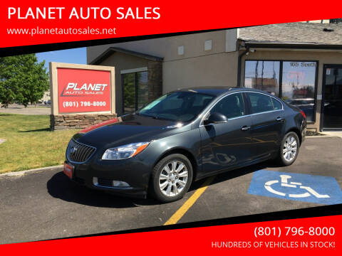 2013 Buick Regal for sale at PLANET AUTO SALES in Lindon UT