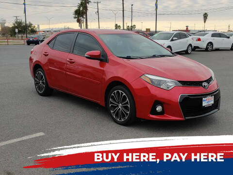 2016 Toyota Corolla for sale at Mid Valley Motors in La Feria TX