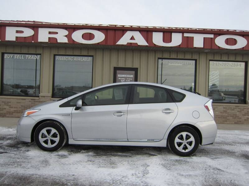 2015 Toyota Prius for sale at Pro Auto Sales in Carroll IA