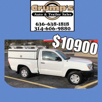 2014 Toyota Tacoma for sale at CRUMP'S AUTO & TRAILER SALES in Crystal City MO