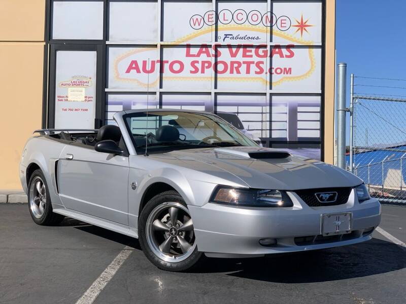 2004 Ford Mustang for sale at Las Vegas Auto Sports in Las Vegas NV