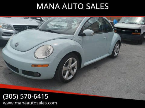 2010 Volkswagen New Beetle for sale at MANA AUTO SALES in Miami FL