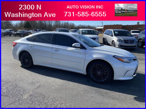 2018 Toyota Avalon for sale at Auto Vision Inc. in Brownsville TN