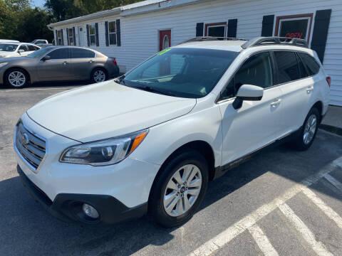 2017 Subaru Outback for sale at NextGen Motors Inc in Mount Juliet TN