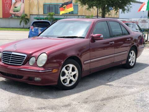 2002 Mercedes-Benz E-Class for sale at Pro Cars Of Sarasota Inc in Sarasota FL