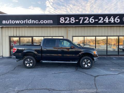 2013 Ford F-150 for sale at AutoWorld of Lenoir in Lenoir NC