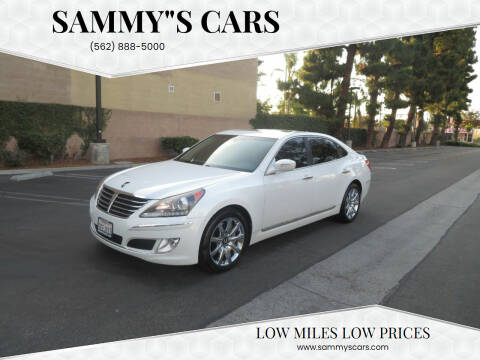 """2012 Hyundai Equus for sale at SAMMY""""S CARS in Bellflower CA"""