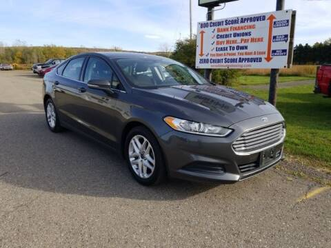 2016 Ford Fusion for sale at Sensible Sales & Leasing in Fredonia NY