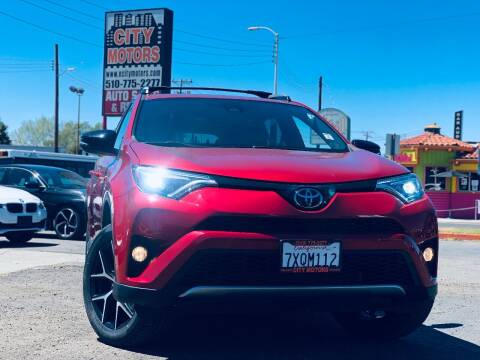 2017 Toyota RAV4 for sale at City Motors in Hayward CA