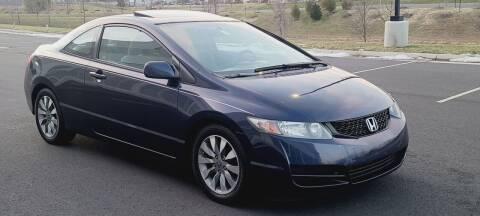 2009 Honda Civic for sale at BOOST MOTORS LLC in Sterling VA