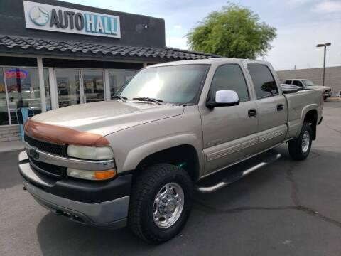 2002 Chevrolet Silverado 2500HD for sale at Auto Hall in Chandler AZ