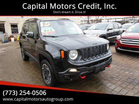 2015 Jeep Renegade for sale at Capital Motors Credit, Inc. in Chicago IL