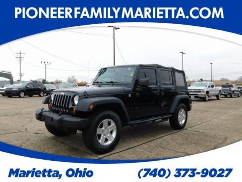 2013 Jeep Wrangler Unlimited for sale at Pioneer Family preowned autos in Williamstown WV