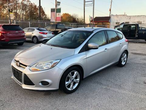 2014 Ford Focus for sale at Saipan Auto Sales in Houston TX