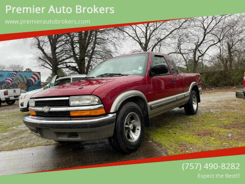1998 Chevrolet S-10 for sale at Premier Auto Brokers in Virginia Beach VA
