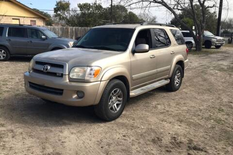 2007 Toyota Sequoia for sale at DFW AUTO FINANCING LLC in Dallas TX