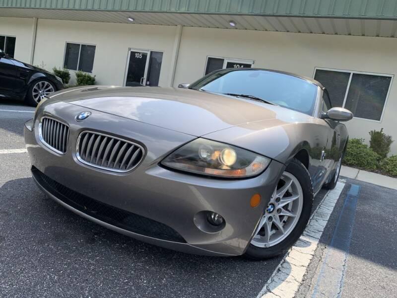 2005 BMW Z4 for sale at Fisher Motor Group LLC in Bradenton FL