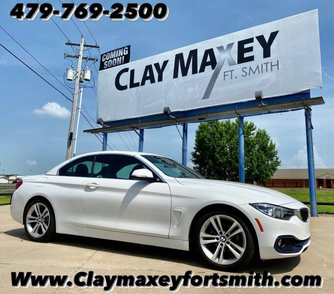 2018 BMW 4 Series for sale at Clay Maxey NWA in Springdale AR