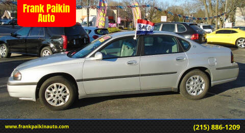 2004 Chevrolet Impala for sale at Frank Paikin Auto in Glenside PA