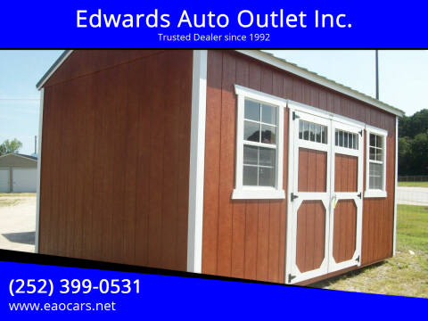 2020 Old Hickory Buildings 10x16 Utility Building for sale at Edwards Auto Outlet Inc. in Wilson NC