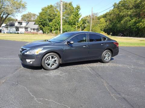 2013 Nissan Altima for sale at Depue Auto Sales Inc in Paw Paw MI